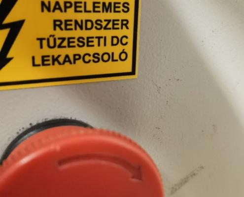ipari műanyag alapú címke