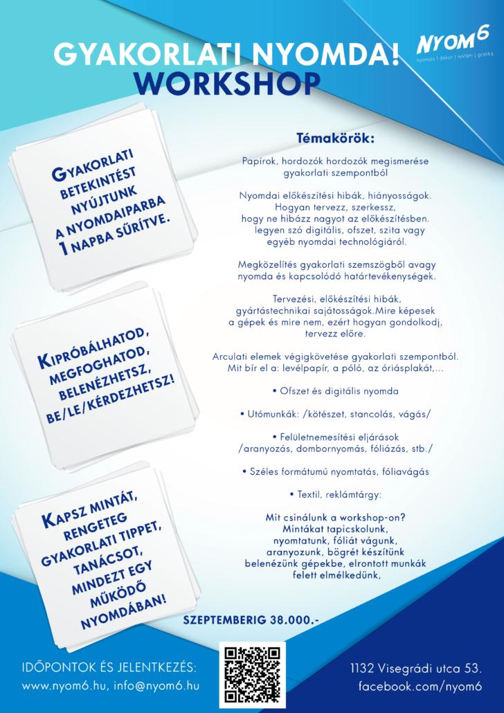 nyomda workshop