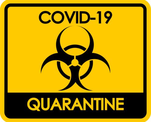 vírus táblák, matricák, padlómatricák