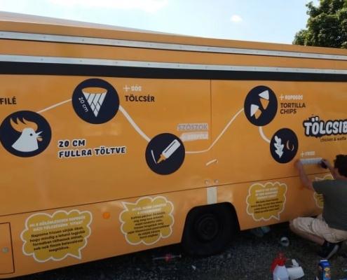 food truck dekor